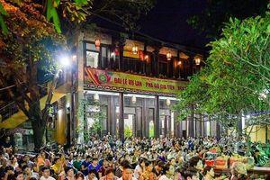 Hàng ngàn người đổ về chùa Phúc Khánh dự đại lễ Vu Lan