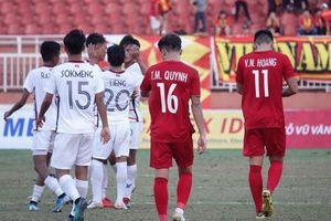 Được Thái Lan trao cơ hội, U18 Việt Nam lại bỏ lỡ đáng tiếc
