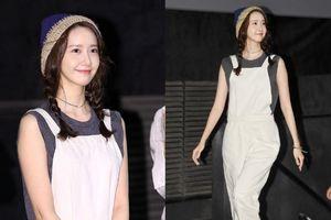 30 tuổi nhưng Yoona SNSD 'hack tuổi' cực siêu với tóc hai bím, quần yếm