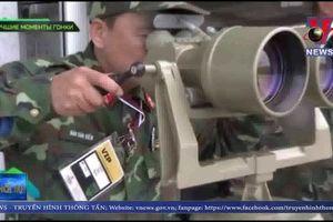 Đội tuyển xe tăng Việt Nam xuất sắc về nhì