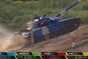 Việt Nam về nhì trận chung kết giải đua xe tăng hấp dẫn nhất hành tinh Tank Biathlon