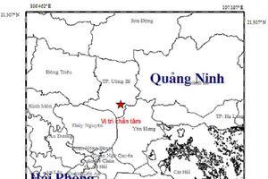 Động đất 3,2 độ richter ở Quảng Ninh