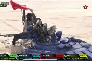 Việt Nam xuất sắc giành huy chương bạc giải đua xe tăng quốc tế
