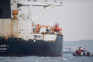 Tàu dầu Iran được thả, bất chấp mọi nỗ lực ngăn chặn của Mỹ