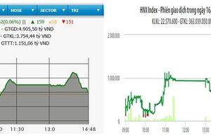 VN-Index lấy lại mốc 980 điểm