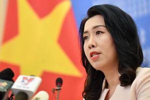 Việt Nam phản ứng việc tàu Hải Dương 8 lại xâm phạm vùng biển Việt Nam