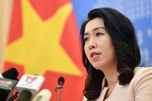 Tàu Hải Dương 8 của Trung Quốc lại xâm phạm vùng biển Việt Nam từ 13.8