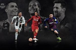 Van Dijk cùng Ronaldo và Messi góp mặt trong top 3 Cầu thủ hay nhất mùa của UEFA