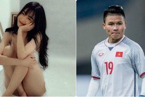 Elly Trần khoe ảnh 'nude toàn tập', Quang Hải phủ nhận tin đồn có tình mới
