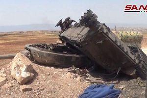 Cận cảnh xe tăng, xe quân sự của phiến quân bị quân đội Syria tiêu diệt ở Idlib
