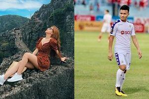 Quang Hải lảng tránh khi được hỏi mối quan hệ với Nhật Lê nhưng lại khiến fans hả hê trước tin đồn có bạn gái mới