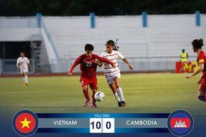 Tuyển Việt Nam đại thắng Campuchia, bù đắp thất bại của đội U18 nam