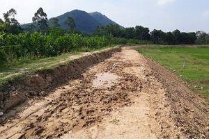 Thanh Hóa: Người dân lo lắng công trình đê Hón Bông không đảm bảo chất lượng