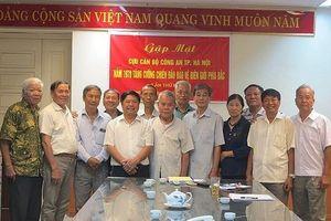 Các cựu cán bộ CATP Hà Nội tăng cường biên giới phía Bắc gặp mặt lần đầu tiên