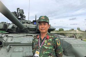 Đội trưởng tuyển xe tăng VN: Chúng tôi đã cố gắng trên cả sức mình