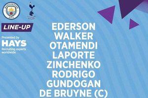 Man City 1-1 Tottenham: Spurs nhanh chóng gỡ hòa