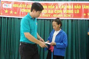 Báo GD&TĐ chung tay giúp người dân vùng lũ Sơn Thủy