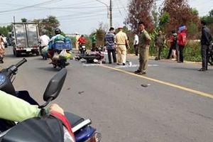 Tài xế mô tô uống rượu ở Chợ tình gây tai nạn khiến bé gái tử vong