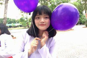 Nữ sinh xinh đẹp thủ khoa khối A1 trường huyện ở Nghệ An, 4 tuổi đã thuộc bảng cửu chương