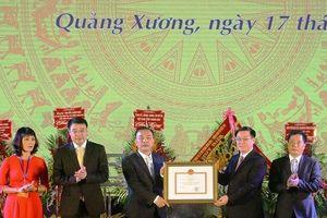 Thanh Hóa: Huyện Quảng Xương được trao bằng công nhận đạt chuẩn nông thôn mới