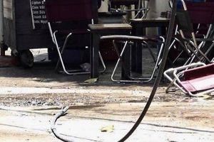 Dây điện rơi xuống quán cà phê khiến một người chết: Điện lực TP.HCM nói gì?
