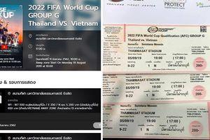 Ngày mai 19-8, chủ nhà Thái Lan bán 2.244 vé cho khán giả Việt Nam