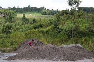 Đắk Nông chỉ đạo xử lý vụ chất thải đổ trái phép ra môi trường
