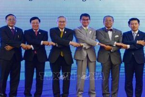 Phó Thủ tướng Phạm Bình Minh đưa ra đề xuất để thiết lập một Mê Công xanh