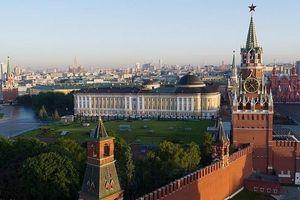 Tìm thấy một quả bom chưa nổ tại Điện Kremlin