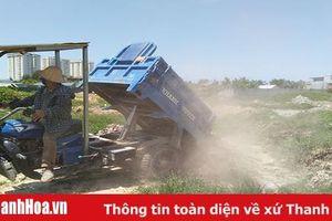 Khó khăn trong xử lý chất thải rắn xây dựng