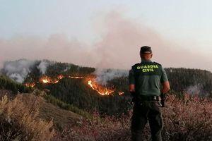 Cháy rừng nghiêm trọng tại Tây Ban Nha, hàng nghìn người sơ tán
