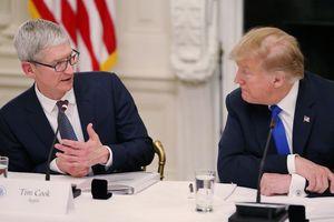 CEO Apple cảnh báo TT Trump về thuế quan với Trung Quốc