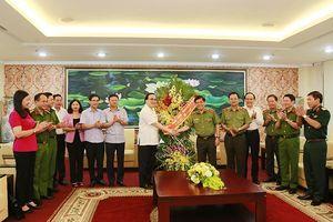 Bí thư Thành ủy Hoàng Trung Hải: Xây dựng lực lượng Công an Thủ đô chính quy, tinh nhuệ, hiện đại
