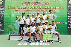 Thành Trung và Minh Trang vô địch hai nội dung đánh đơn
