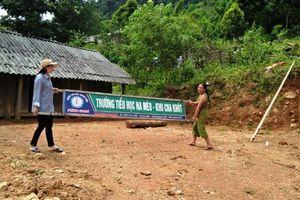 Thanh Hóa: Cô và trò chuẩn bị đón năm học mới ở Cha Khót