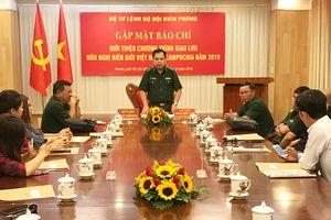 Nhiều hoạt động ý nghĩa trong Giao lưu hữu nghị biên giới Việt Nam - Campuchia năm 2019