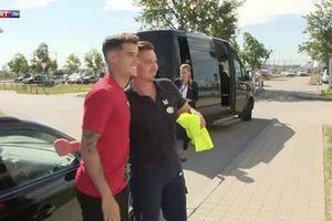 Coutinho đã có mặt tại Đức, mặc chiếc áo số 10 của Robben!