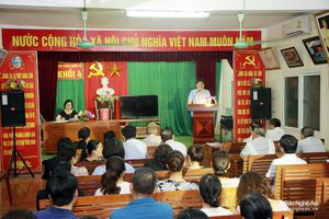 Ban Thường vụ Tỉnh ủy Nghệ An thành lập 5 tổ nghiên cứu chuyên sâu các loại hình chi bộ