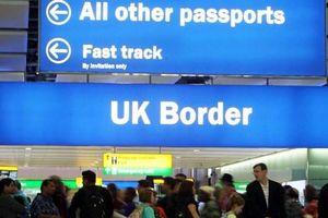 Công dân EU sẽ không được tự do vào Anh ngay sau Brexit