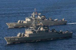 Hạm đội Hải quân Iran sẵn sàng hộ tống tàu chở dầu về nước