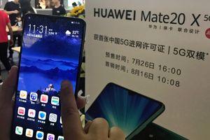 Điện thoại 5G của Huawei có hơn 1 triệu đơn đặt hàng chỉ sau một ngày ra mắt