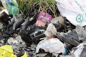 Đốt rác thải công nghiệp tại Tràng Minh (Kiến An, Hải Phòng): Vì sao khó xử lý?