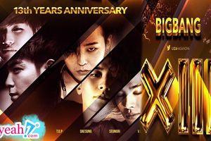 Kỉ niệm 13 năm debut, V.I.P đưa Big Bang lên top trending thế giới với đầy đủ 5 thành viên như ngày đầu