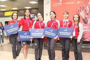 Đoàn Việt Nam đã đến Kazan an toàn, chuẩn bị cho Kỳ thi tay nghề thế giới lần thứ 45