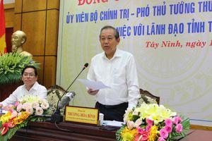 Tây Ninh cần tập trung chống buôn lậu qua biên giới, phòng chống gian lận thương mại