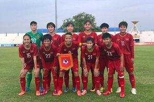 Nữ Việt Nam, Myanmar tranh ngôi đầu bảng