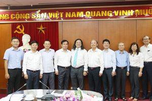 Bổ nhiệm đồng chí Nguyễn Minh Nhựt giữ chức Vụ trưởng Vụ Văn hóa – văn nghệ