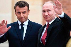 Tổng thống Pháp đón Tổng thống Nga ngay trước thềm G7