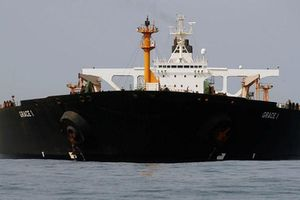 Tàu chở dầu của Iran rời khỏi Gibraltar