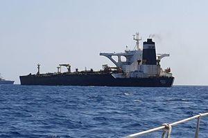 Tàu chở dầu Iran được thả hướng về phía Hy Lạp